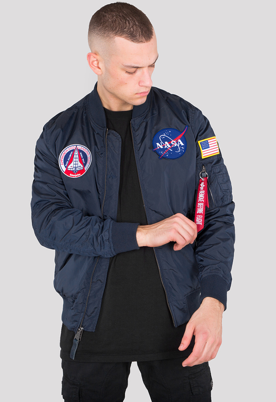 f29c104e1 Additional colors. Product information MA-1 TT NASA Reversible II. Alpha  Industries Flight Jacket ...