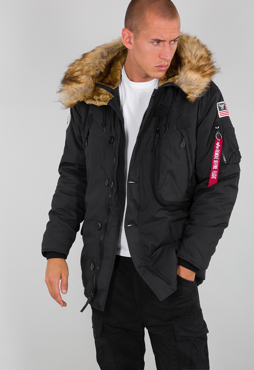 Jacken, Mäntel & Westen Alpha Industries Herren Polar Jacket Parkas