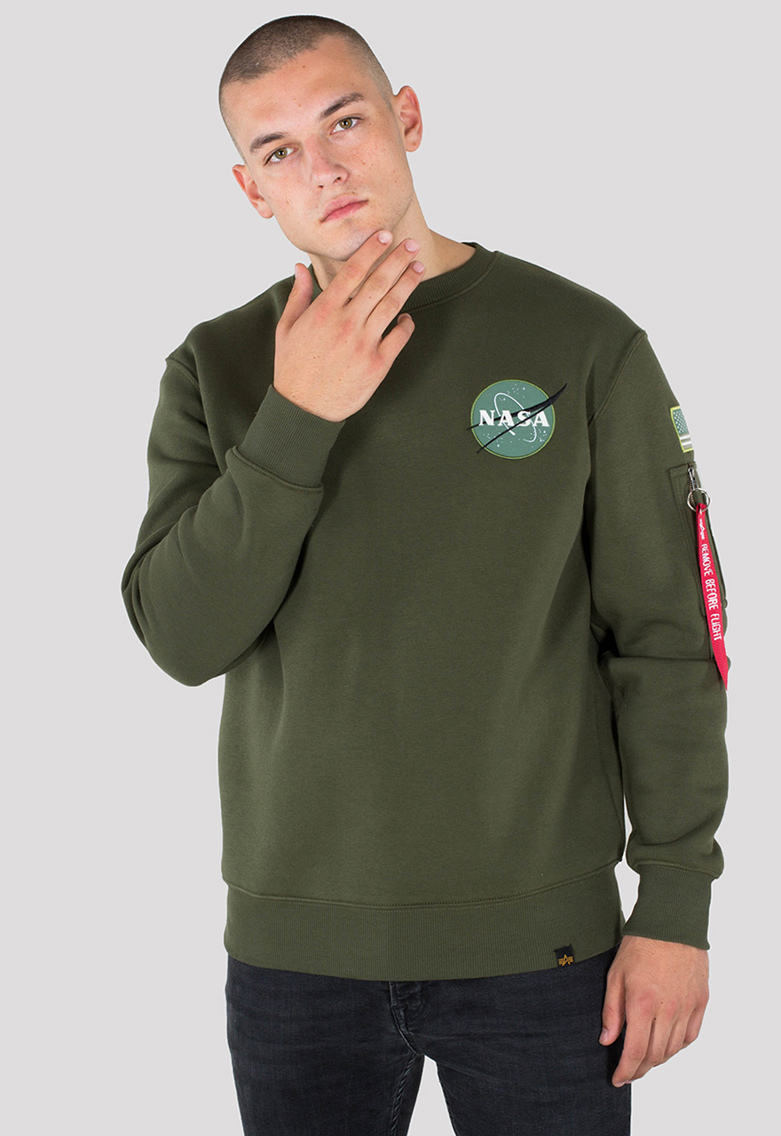 1bbc77c51 Additional colors. Product information Space Shuttle Sweater. Alpha  Industries ...