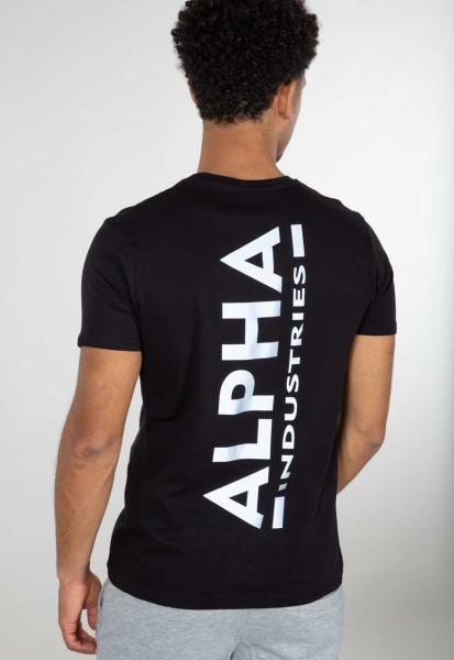 Alpha Industries Herren T-Shirt CB schwarz