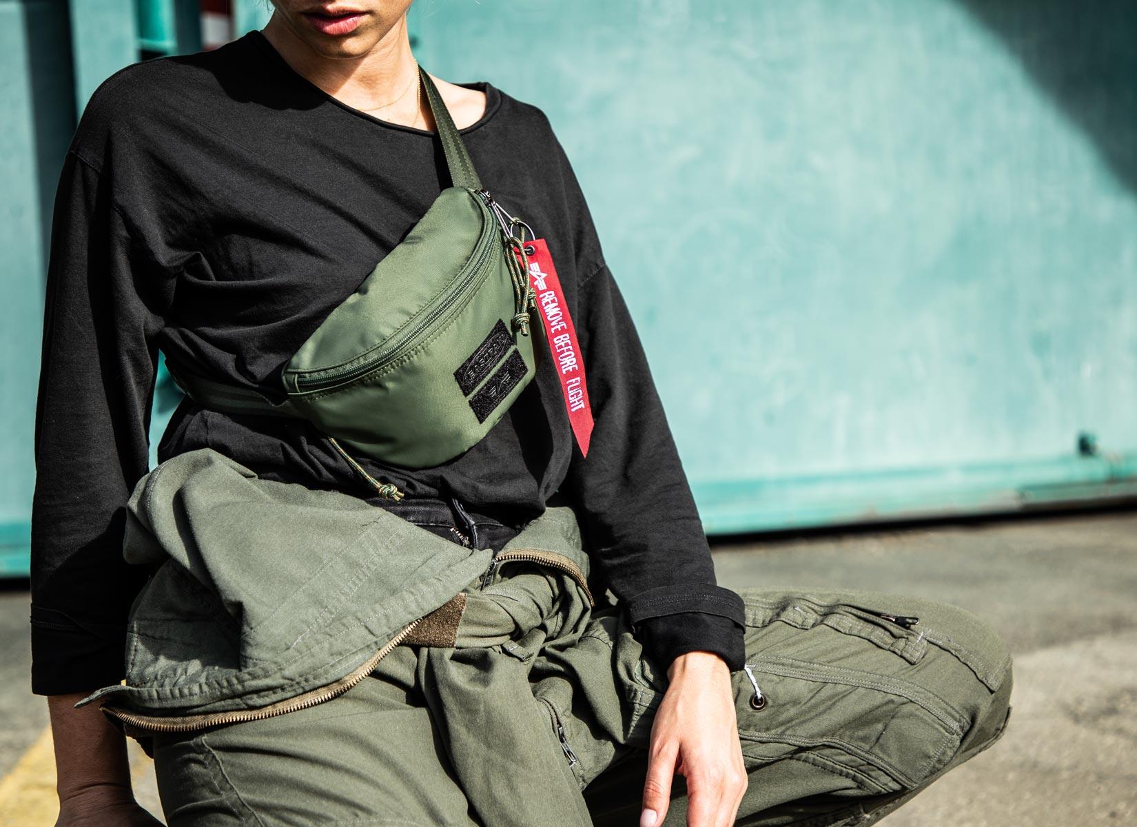 quality design 6c901 46aed Alpha Industries collaborates with Eastpak