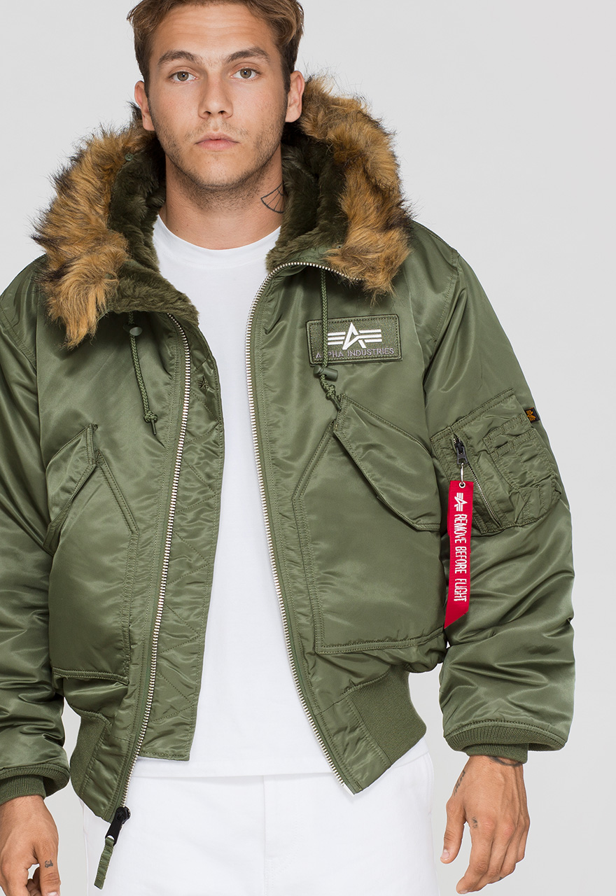 f80ece99938 Additional colors. Product information 45P Hooded. Alpha Industries Flight  Jacket ...
