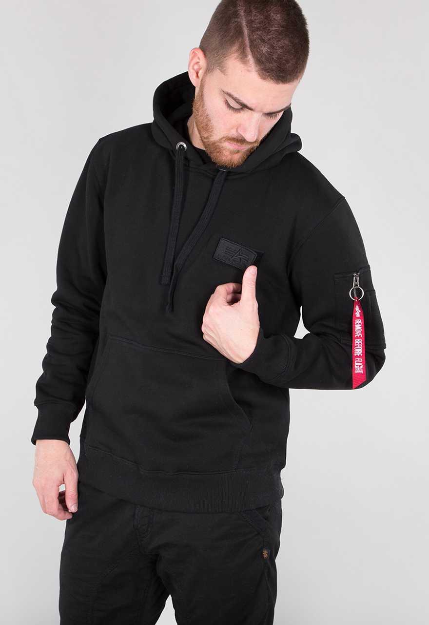 alpha industries jacke mit hoodie