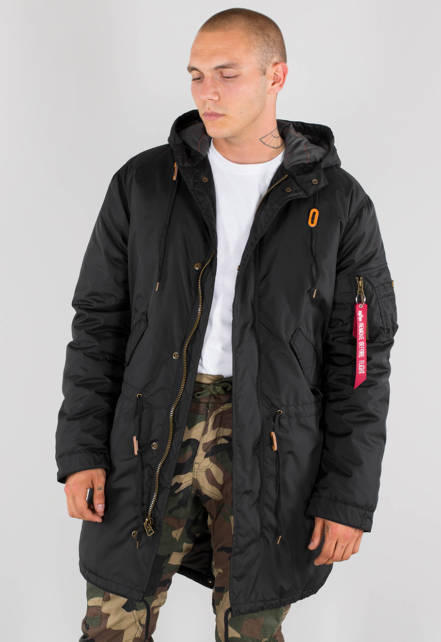 Alpha Industries Windbreaker »Hooded Fishtail CW TT« Herren
