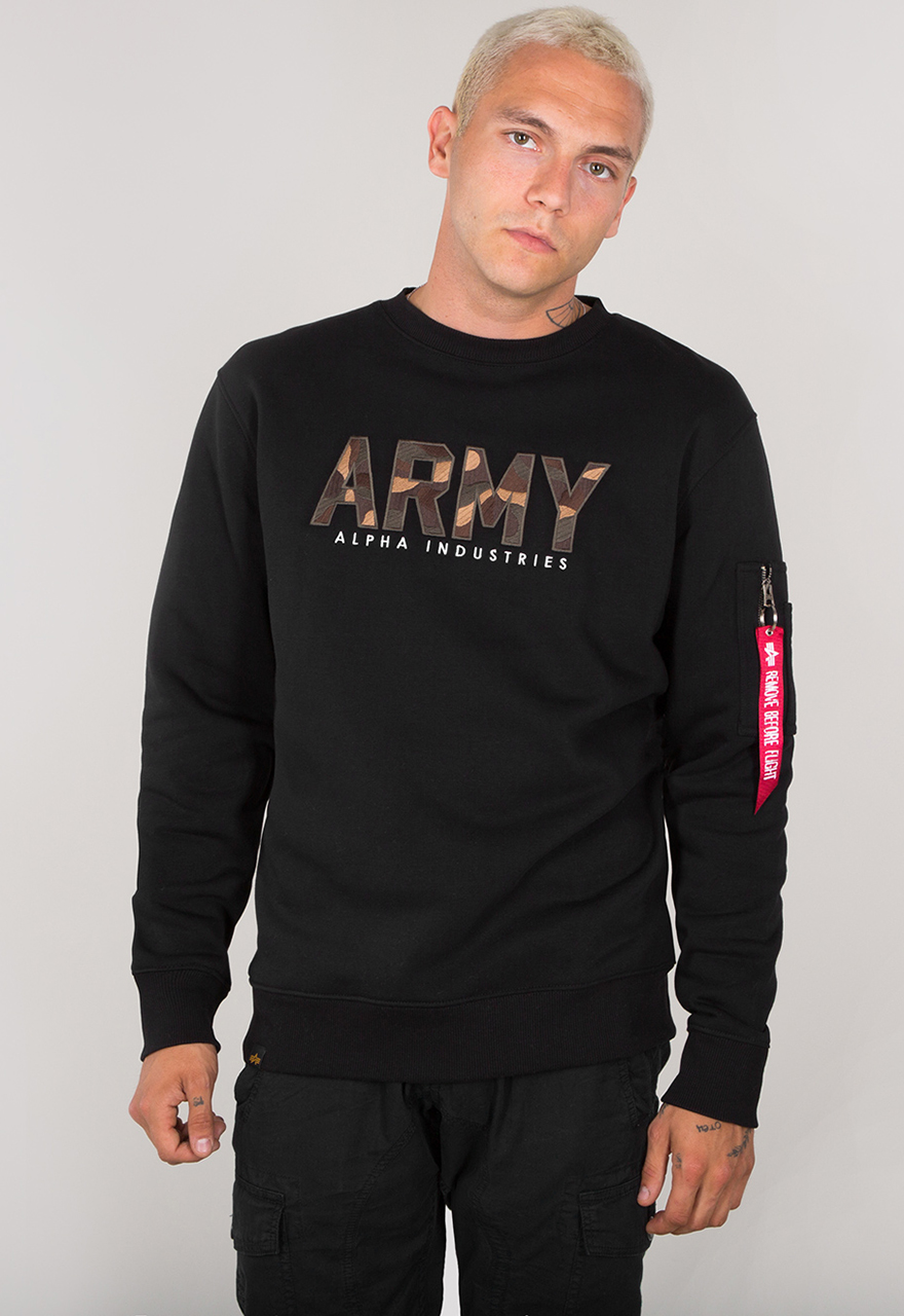 Color:black;Gr/ö/ße:XL Alpha Industries Sweater X-Fit