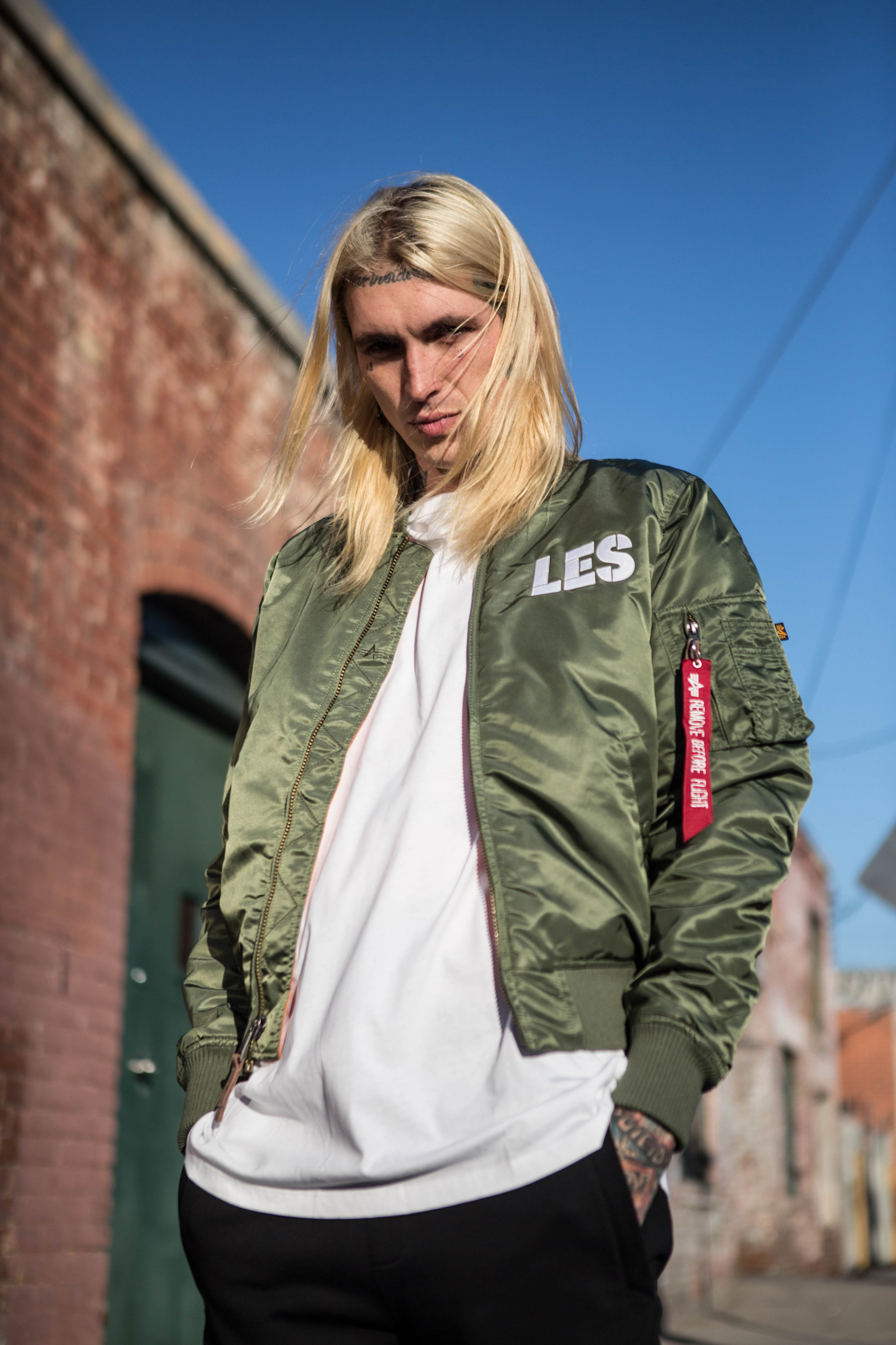 best website 3cf20 2aa6f ALPHA INDUSTRIES x LES BENJAMINS | Blog | Discover | Alpha ...