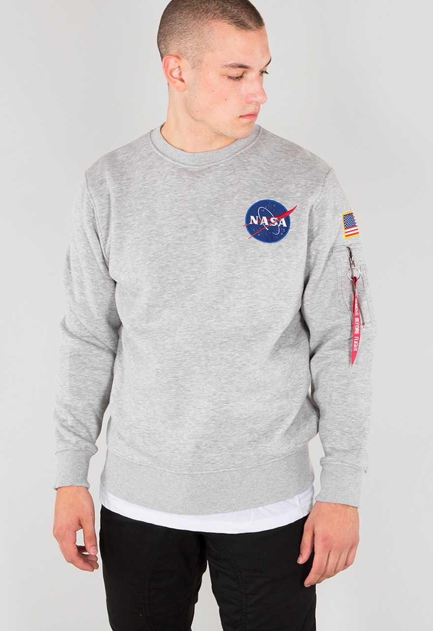 07d4b138d Space Shuttle Sweater Hoodies & Crew Necks | Alpha Industries ...